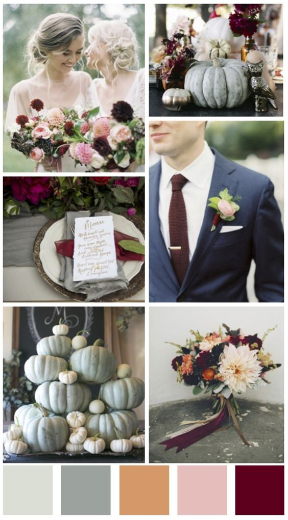 fall wedding color schemes fall wedding design ideas from a wedding planner bts 27737