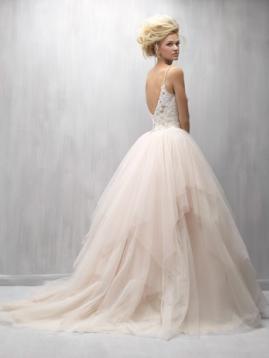 Cream Bride Dress