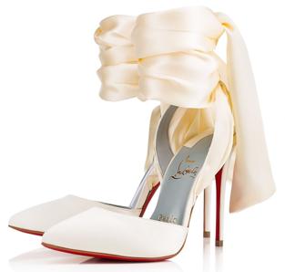 Cream Bride Shoes